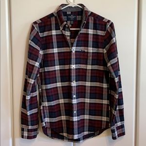 American Eagle Outfitters Slim Fit Flannel - Men's